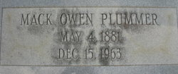 Mack Owen Plummer