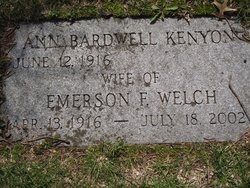 Emerson Frederick Welch