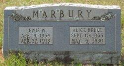 Alice Belle <I>McNeil</I> Marbury
