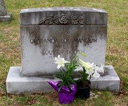 Clarenda Lou <I>Mangum</I> Booth