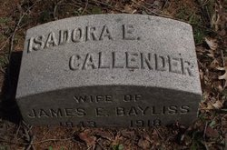 Isadora E <I>Callender</I> Bayliss
