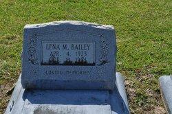 Lena M <I>Randle</I> Bailey