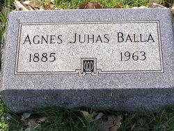 Agnes <I>Juhas</I> Balla