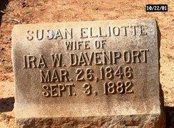 Susan Elliotte <I>Vance</I> Davenport