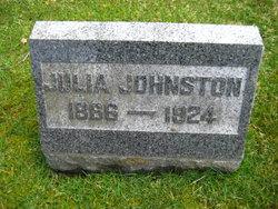 Julia <I>Rock</I> Johnson