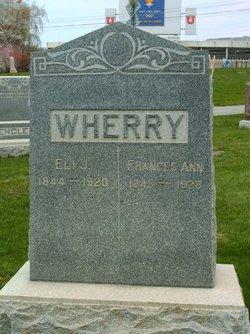 Frances Ann <I>Weaver</I> Wherry