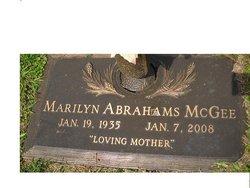 Marilyn <I>Abrahams</I> McGee