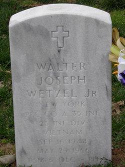 "PFC Walter Joseph ""Jo"" Wetzel Jr."