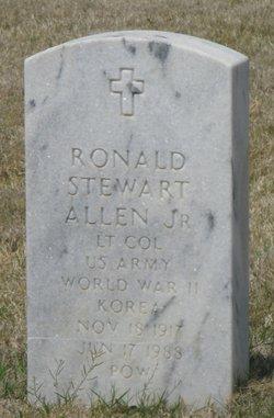 LTC Ronald Stewart Allen Jr.