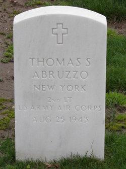 2LT Thomas S Abruzzo