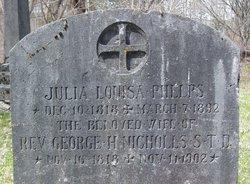 Rev George H Nicholls