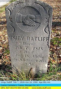 Eunice Jane <I>Lykins</I> Ratliff