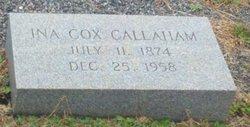 Ina <I>Cox</I> Callaham