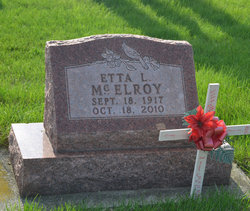 Etta Louise <I>Olney</I> McElroy