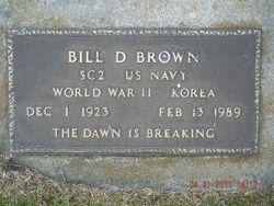 Bill Deshazo Brown