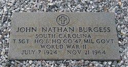 "Sgt John Nathan ""J. N."" Burgess, Sr"