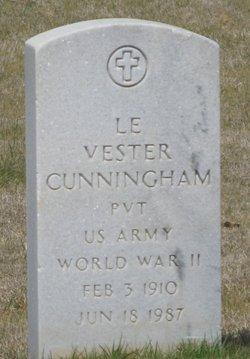 Le Vester Cunningham
