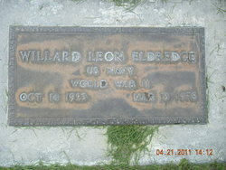 Willard Leon Eldredge