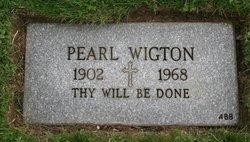 Pearl <I>Murphy</I> Wigton