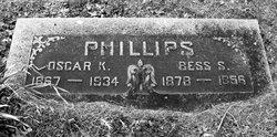 """Elizabeth Ann """"Bessie"""" <I>Simms</I> Phillips"""
