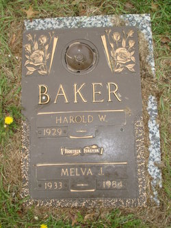 Melva Joan <I>Mowrey</I> Baker