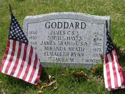 James Goddard, CSA