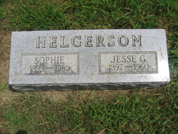Sophie <I>Olson</I> Helgerson
