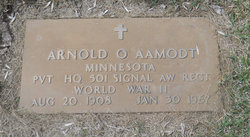 Arnold O Aamodt