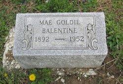 Mae Goldie <I>Butler</I> Balentine