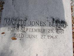 Mattie <I>Jones</I> Bland