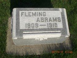 """Benjamin Fleming """"Fleming"""" Abrams"""