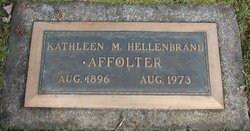 Kathleen May <I>Becker</I> Affolter Hart