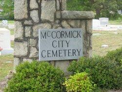McCormick City Cemetery