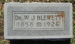 Dr William Jason Blewett