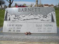 Olive <I>Thomas</I> Barnett