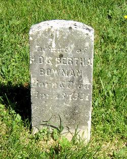 Infant Bowman