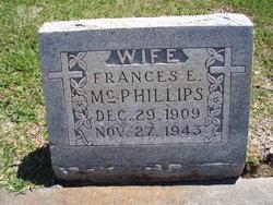 Frances Elizabeth <I>Bennett</I> McPhillips
