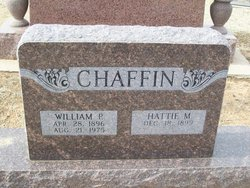 Hattie May <I>McDaniel</I> Chaffin