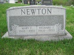 Mary Florence <I>Kidwell</I> Newton