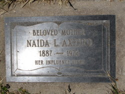 Naida Larue <I>Wamsley</I> Axford