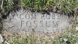 LCDR Robert J Fossum