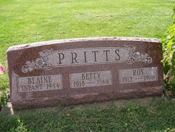Betty <I>Mabbitt</I> Pritts