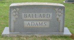 Beatrice Ballard <I>Morgan</I> Adams