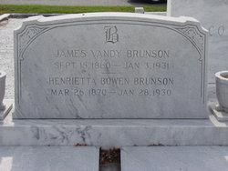 Henrietta <I>Bowen</I> Brunson