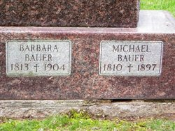 Barbara <I>Ruhland</I> Bauer