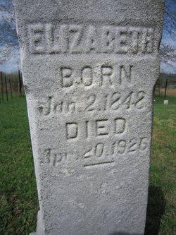 Elizabeth <I>Speicher</I> Boyer