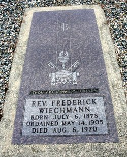 Rev Fr Frederick Wiechmann