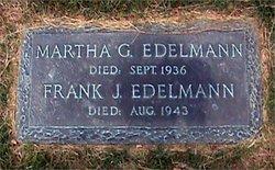 """Martha G """"Mattie"""" <I>Walker</I> Edelmann"""