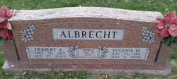 Eugenia Margaret <I>Brooks</I> Albrecht