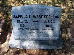 Dr Isabella Elizabeth <I>West</I> Cochran